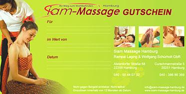 massage gutscheine der siam massage hamburg jetzt online ordern. Black Bedroom Furniture Sets. Home Design Ideas